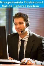 recepcionista telefonista cursos ceclem profesionales
