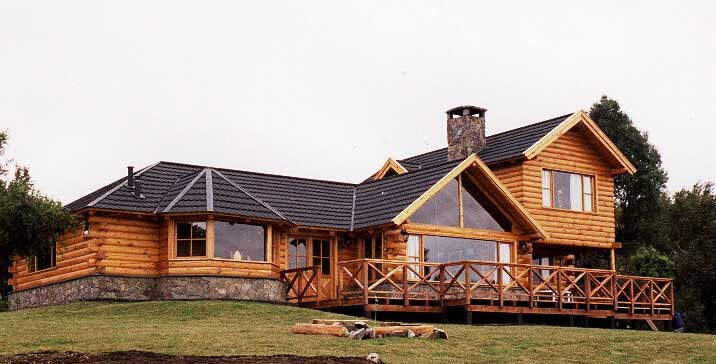 casa de troncos 1