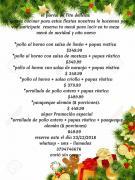 Cena de Nochebuena Y Año Nuevo