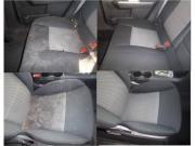 Limpieza de tapizado de autos .