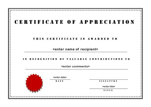 Templates Award Microsoft Publisher Certificate