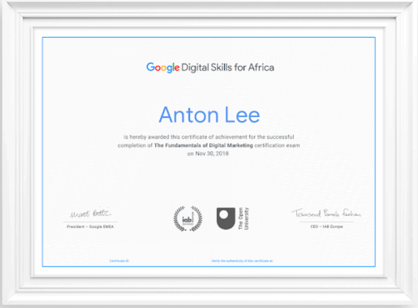 18/09/2021· our online digital marketing course will help you gain full proficiency in digital marketing skills like search engine optimization (seo), search engine marketing (sem), google analytics and web analytics, social media, content marketing, email marketing, etc. 2021 600+ Google Free Certificates and Badges — Class ...