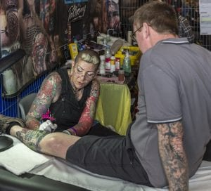 Live Tattooing