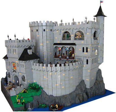 Lego Castle Silver Lake