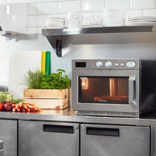samsung cm1529 1500w commercial microwave oven