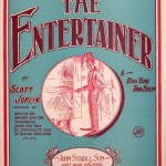 Easy classical guitar: The Entertainer (Ragtime)