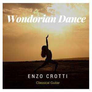 wondorian dance for classical guitar