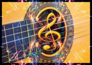 guitar 432 hz relax