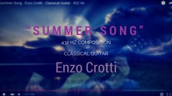 summer song - classical guitar 432 hz