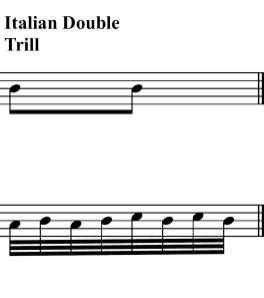 italian double trill