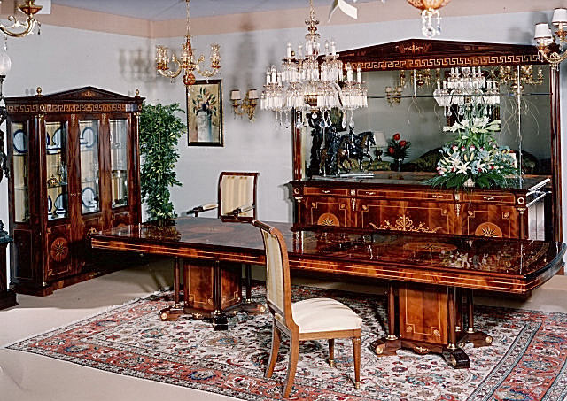 Empire Dining Room Furniture In Spanish StyleTop And Best Italian Classic Furniture