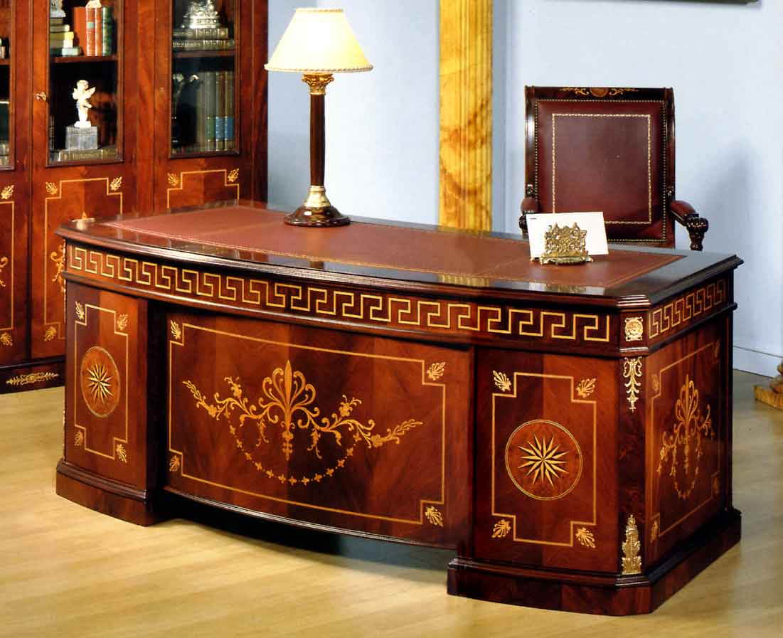 Imperial Office Room Furniture In Spanish Style Top And