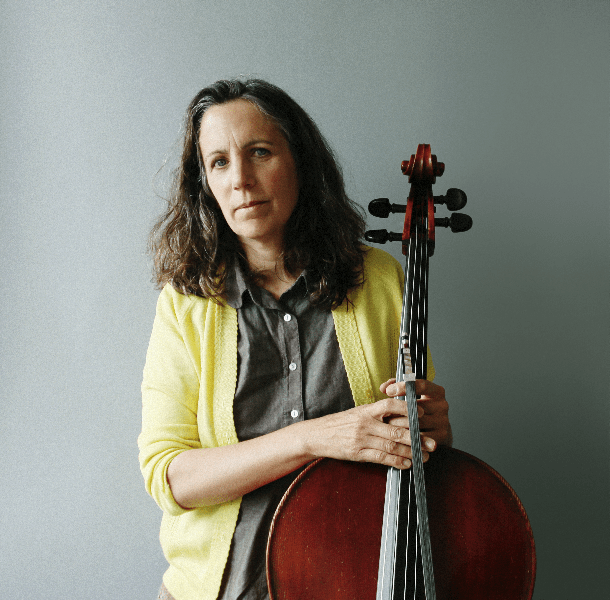 Cellist Lori Goldston (Photo: Kelly O.)