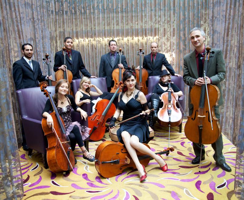 Portland Cello Project (Photo: Tarina Westlund)