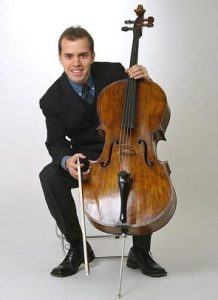 Cellist Efe Baltacıgil (Photo: Christian Steiner)