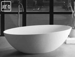 Freistehende Design Badewanne Santino, Santino, Quartz ...