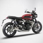Zard Speed Twin Thruxton 1200 2 1 Full Kit Exhaust Triumph Lc 16 Classicbike Raisch