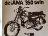 Jawa 350 advertentie