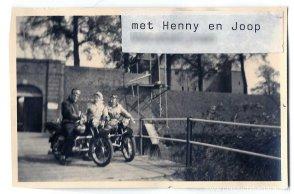 Met Joop en Henny