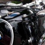 BMW R67/3 ex-politie zijspan gaat solo