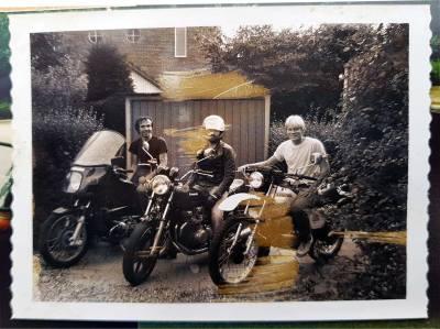 Motorherinneringen uit een recent verleden