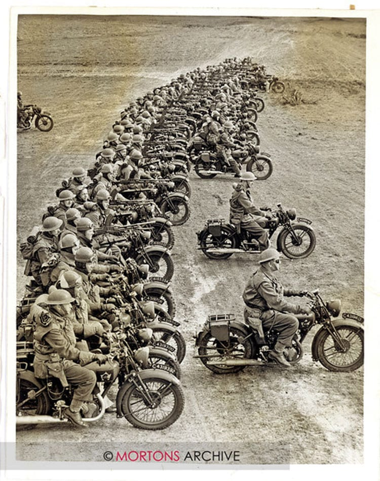 Long line of 16Hs and Big 4s in April 1941, during World War 2. Photo: Mortons Archive.