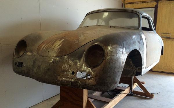 Porsche 356 AT2 Cabrio 1958 aus Oklahoma