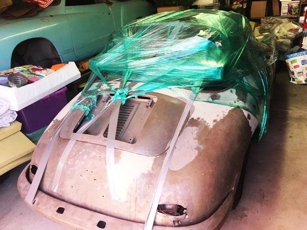 Neuakquisition: Porsche 356 C Cabrio