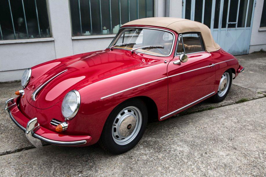 Porsche 356 C Cabrio fertiggestellt