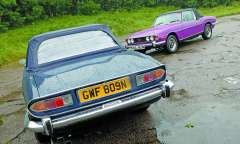 Triumph Stag Classic Car Reviews Classic Motoring Magazine