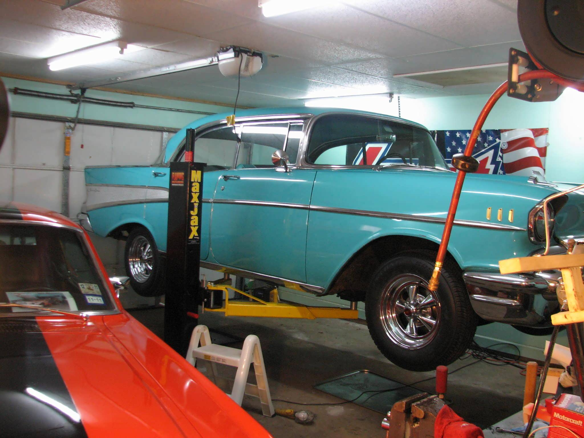 My 57 Chevy Bel Air 4 Door Sportscoupe Story Classic Cars And Tools 1957 Truck The