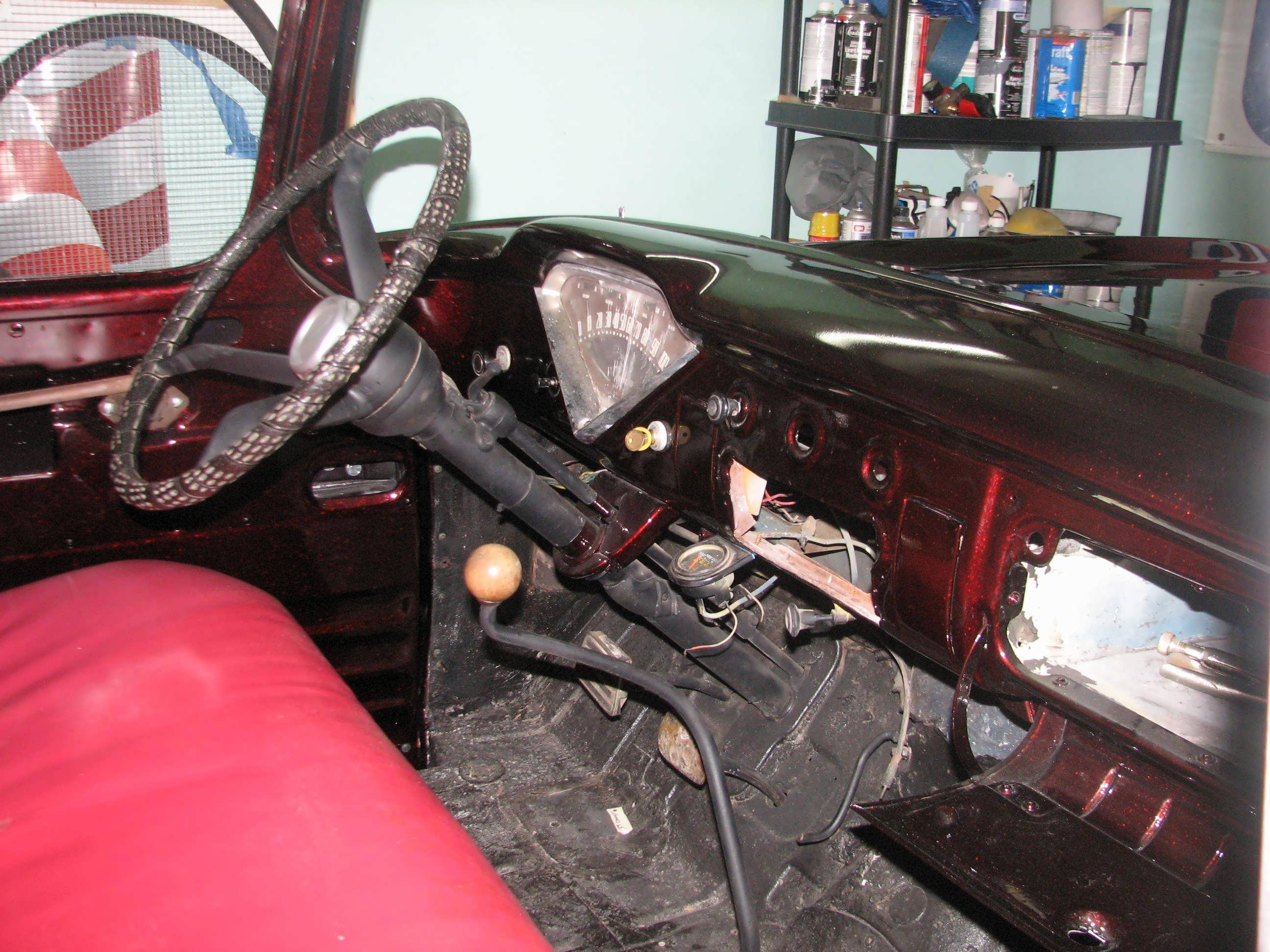 59 Apache steering column upgrade | Classic Cars and Tools