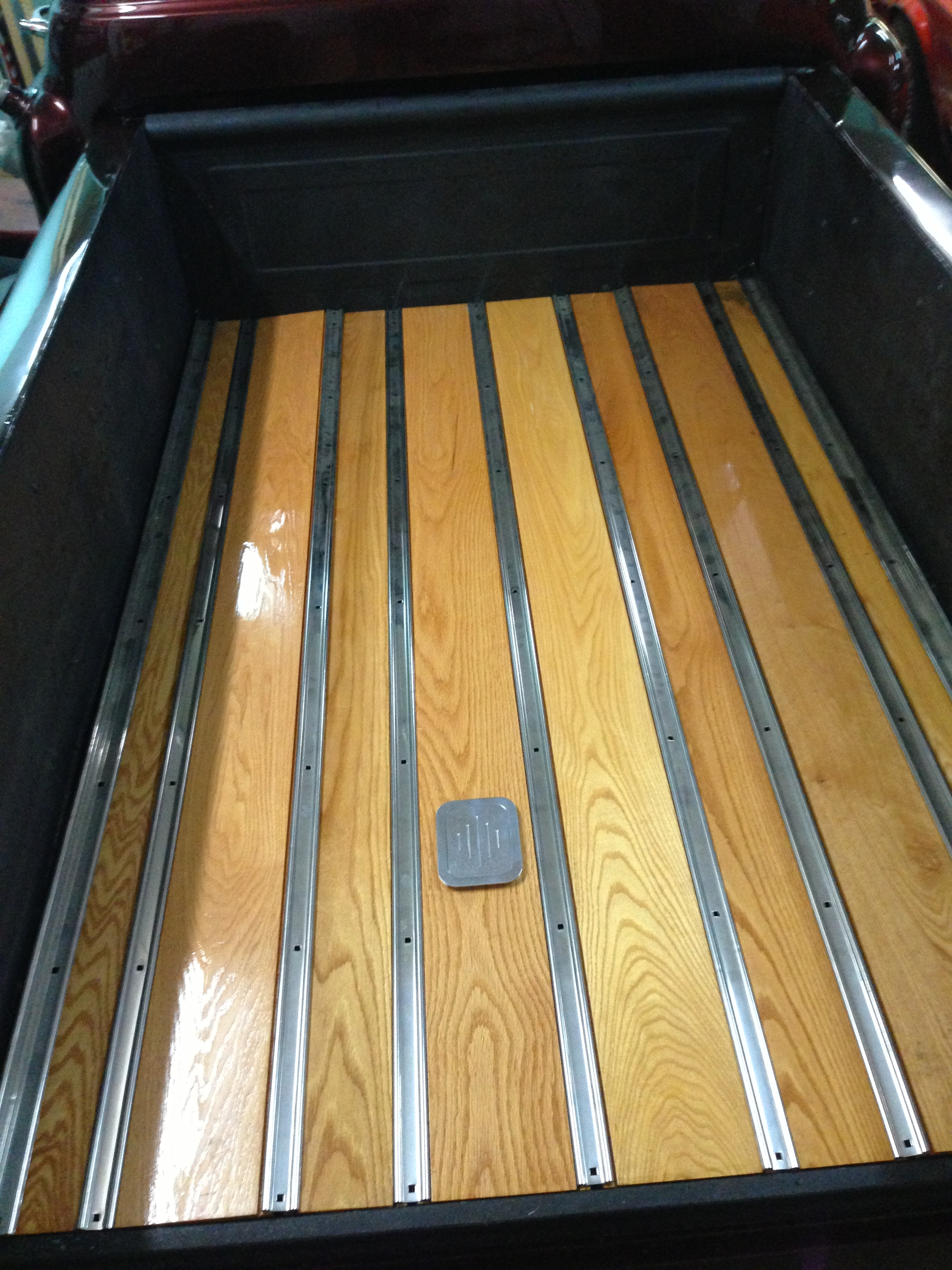 Gas Trap Door For Wooden Bed Classic Cars And Tools