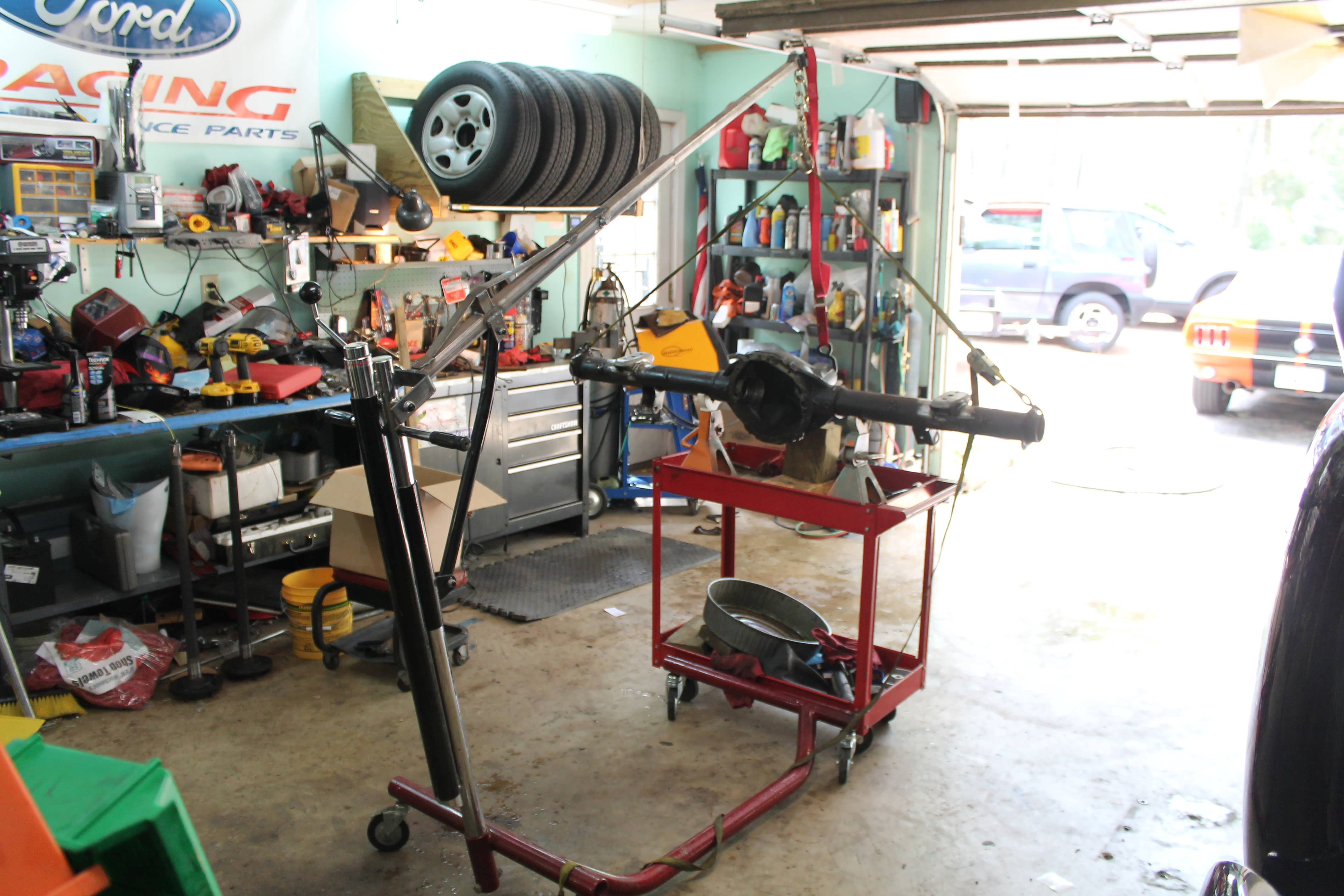 59 Chevy apache rear end | Classic Cars and Tools
