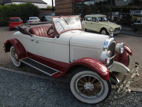 For Sale     1926 Chrysler Roadster G50   Classic Cars HQ  For