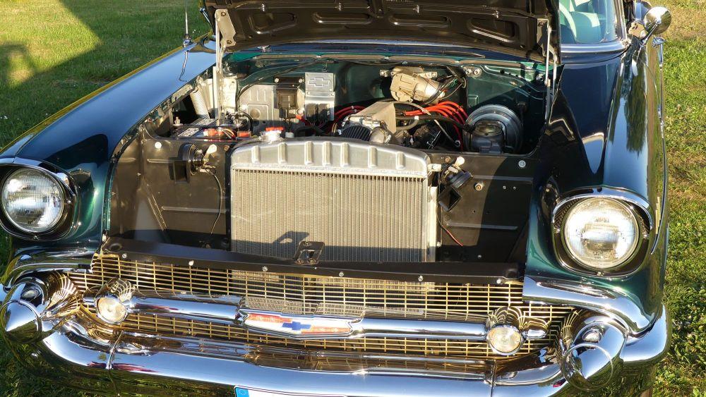 Chevrolet Bel Air 1957 Convertible (18)