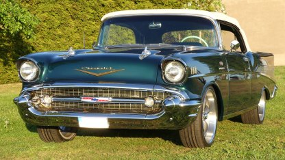 Chevrolet Bel Air 1957 Convertible (2)