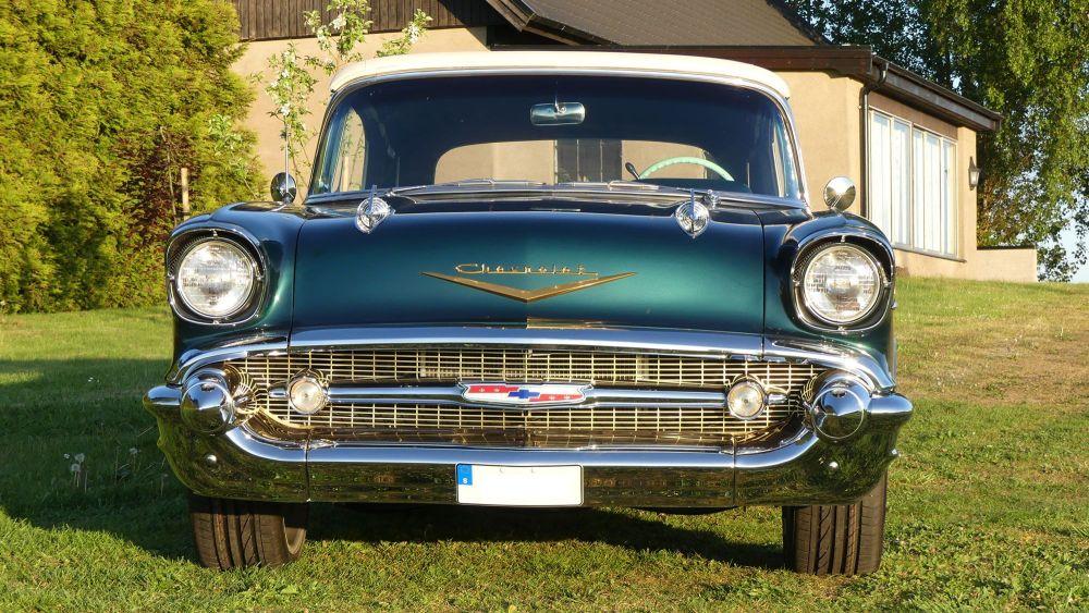 Chevrolet Bel Air 1957 Convertible (4)