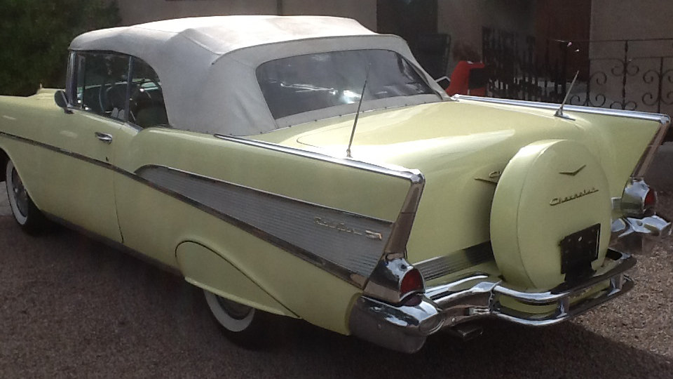 Chevrolet Bel Air 1957 Convertible (5)