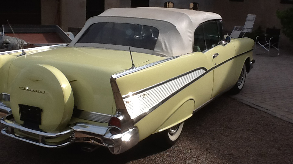 Chevrolet Bel Air 1957 Convertible (7)