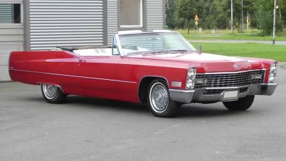 Cadillac Deville 1967 Convertible (1)