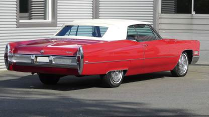 Cadillac Deville 1967 Convertible (7)