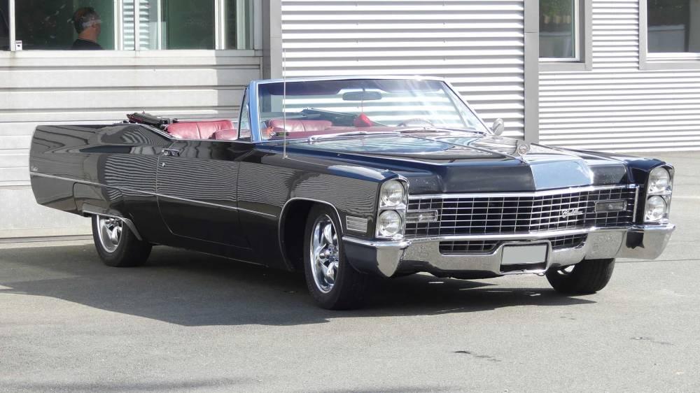 Cadillac De Ville 1967 Convertible (31)
