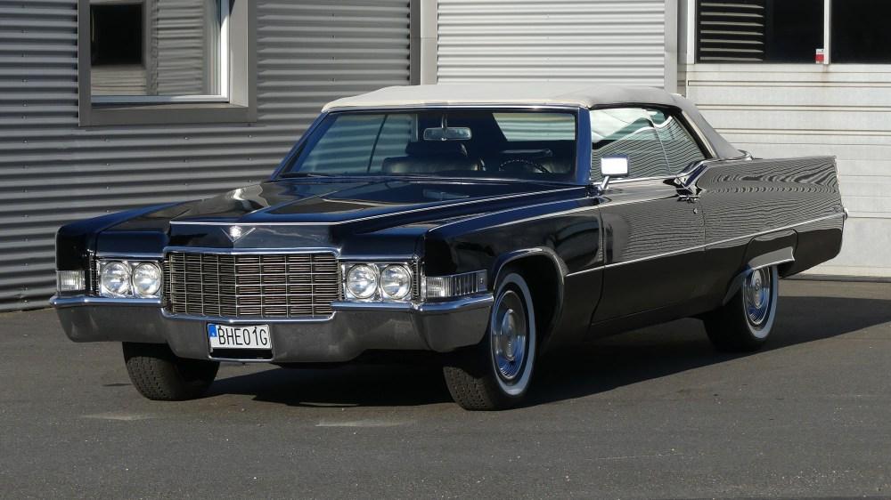 Cadillac Deville 1969 Convertible (2)