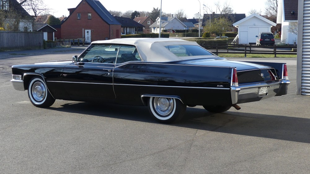 Cadillac Deville 1969 Convertible (6)