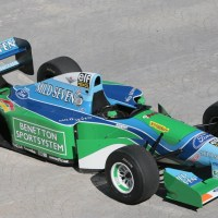 Schumacher's First Title Car