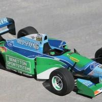 Schumacher's First Title Car