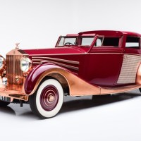 Copper-bodied Rolls-Royce