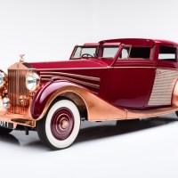 Copper-bodied Rolls-Royce