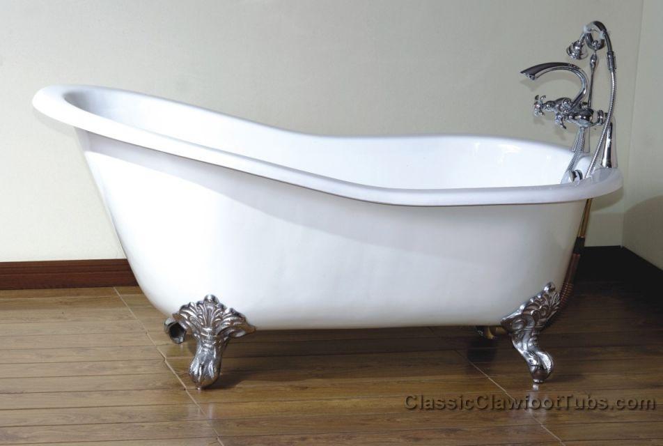 57 Cast Iron Slipper Clawfoot Tub Classic Clawfoot Tub